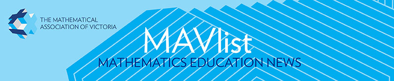 MAVlist mathematics education news