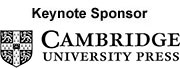 Cambridge University Press keynote sponsor
